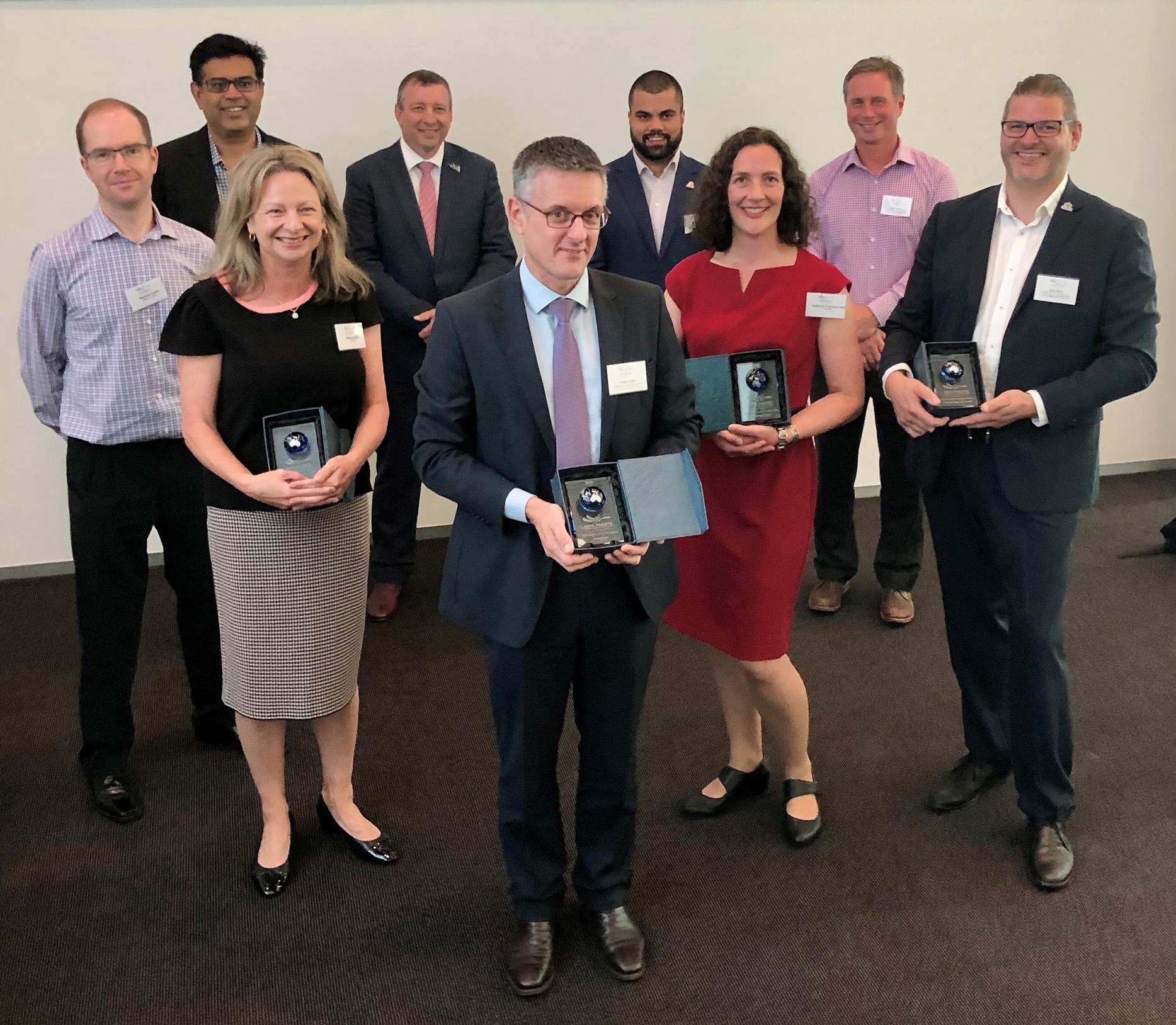 Group photo of APSEA award winners