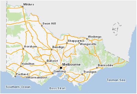 Web Mercator image