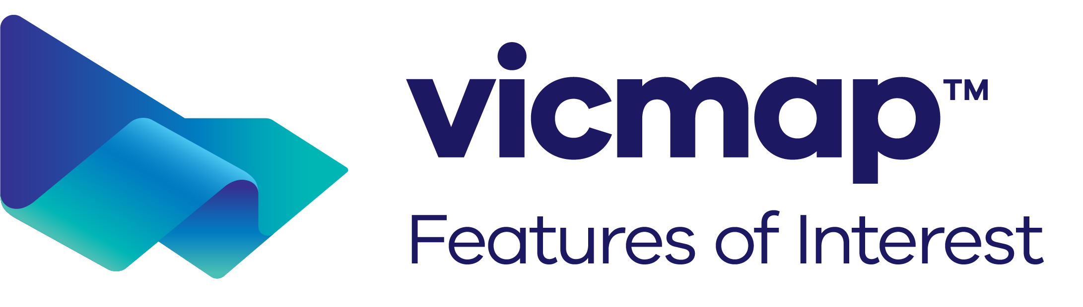 Vicmap Features of Interest logo
